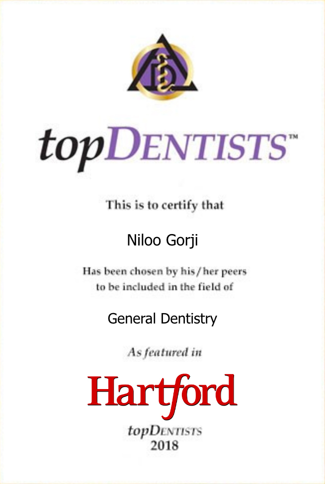 top dentist award logo