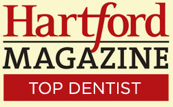 hartford magazine top dentist logo
